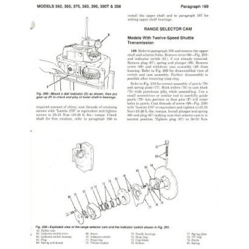 massey ferguson mf 362 mf 365 mf 375 mf 383 mf 390 mf 390t rh tractorboek com Massey Ferguson 383 Parts Massey Ferguson Model 383 Type 5266