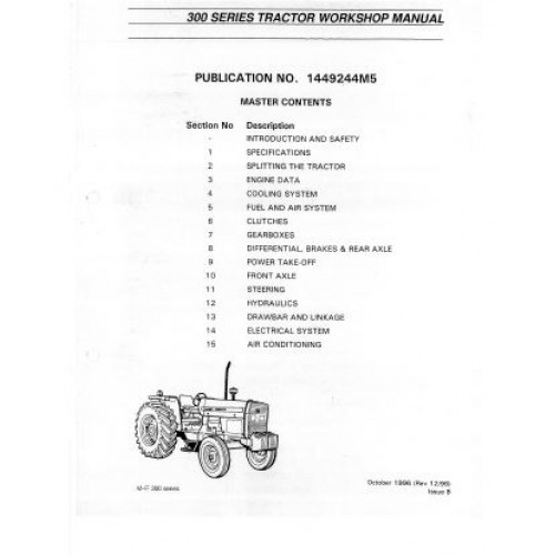 massey ferguson 383 parts manual