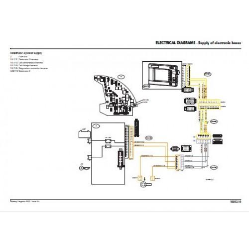 Massey Ferguson Mf 6445 - Mf 6455 - Mf 6460 - Mf 6465 - Mf 6470