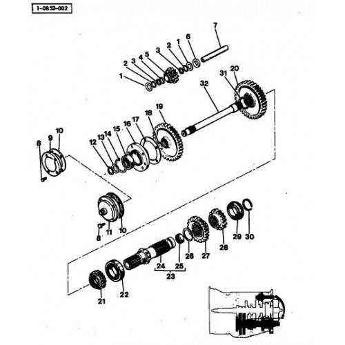 massey ferguson mf 135 parts manual