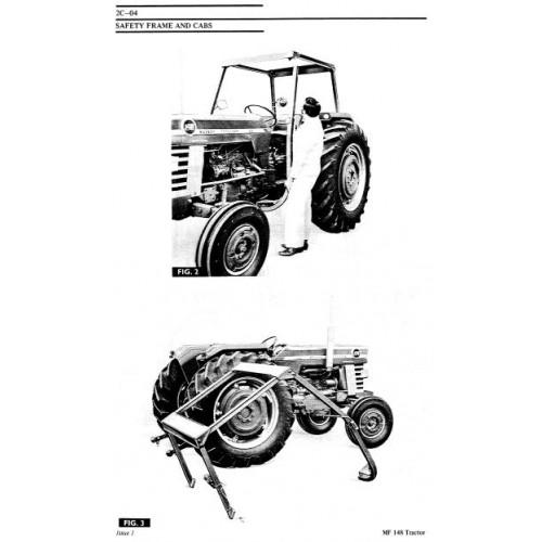 Massey Ferguson MF135 MF148 Workshop Manual in addition John Deere 5420 Fuse Box additionally Toro Snow Cab Diagrams additionally 106955 additionally  on kubota tractor cabs