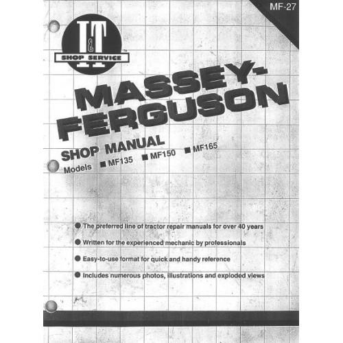 massey ferguson mf 135 mf 150 mf 165 workshop manual rh tractorboek com mf 135 service manual mf 135 service manual pdf