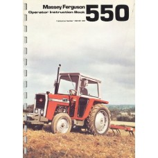 Massey Ferguson MF 550 Operators Manual