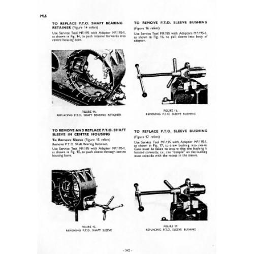 massey ferguson mf 35 fe 35 workshop manual rh tractorboek com massey ferguson 35 workshop service manual massey ferguson mf 35 service manual