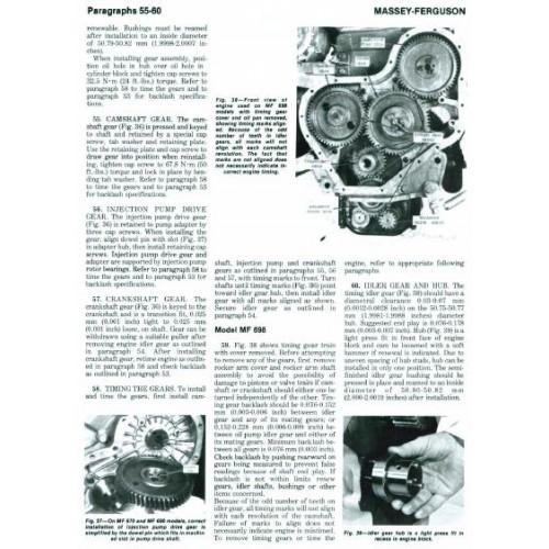 massey ferguson mf 670 mf 690 mf 698 workshop manual