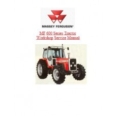 Massey Ferguson MF 675 - MF 690 - MF 698 Workshop Manual