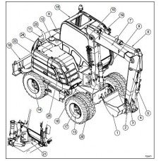 New Holland MH2.6 - MH3.6 Tier 3 Workshop Manual