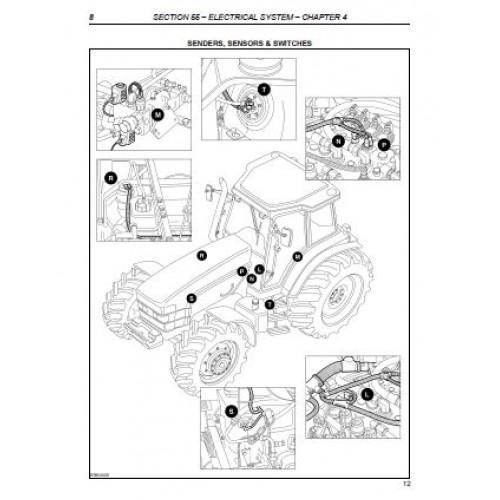 Nh New Holland Tm Tm Tm Tm Tm Manual X likewise Massey Ferguson Mf Tractor Service Repair Manual moreover S L further A Ddb E Ca B F C D as well . on 95 case tractor wiring diagram