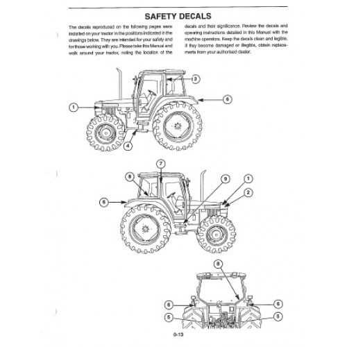 Nh New Holland Ford Manual X