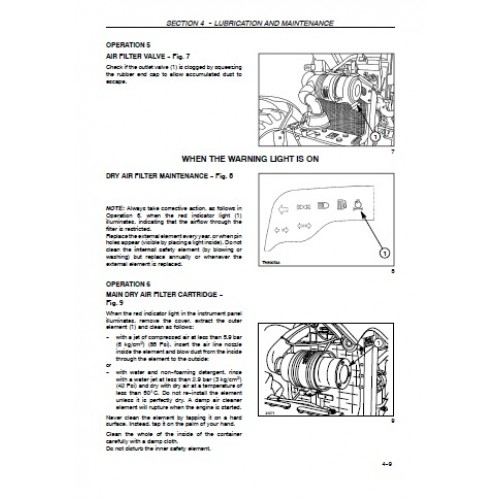 New Holland 5030 Operators Manual