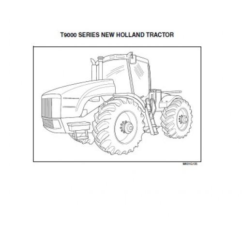 New Holland T9010 - T9020 - T9030 - T9040 - T9050 - T9060 - T9000