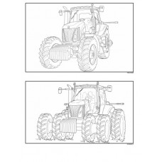 New Holland TG210 - TG230 - TG255 - TG285 - TG Series Workshop Manual