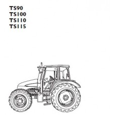 New Holland TS90 - TS100 - TS110 - TS115 Operators Manual