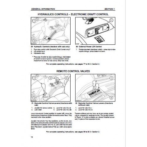 Nh ts110 manual