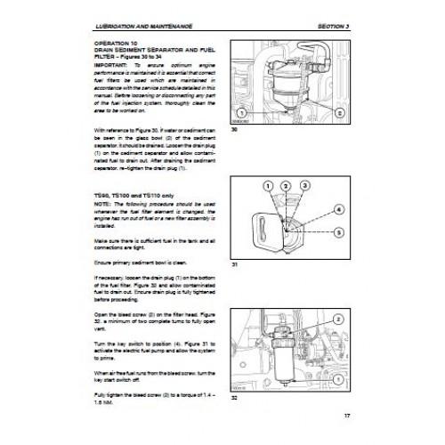 new holland ts90 ts100 ts110 ts115 operators manual rh tractorboek com new holland ts115a workshop manual new holland ts115a workshop manual