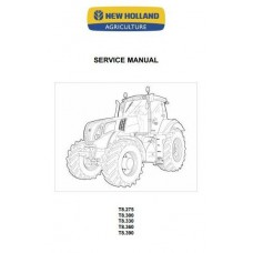 New Holland T8 - T8.275 - T8.300 - T8.330 - T8.360 - T8.390  Workshop Manual