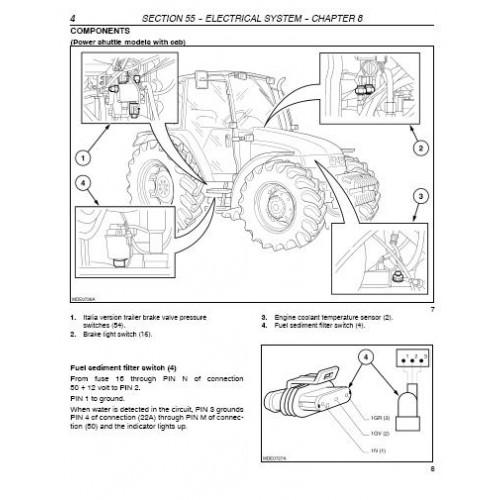 new holland tl tl70 tl80 tl90 tl100 workshop manual rh tractorboek com new holland tl 100 manual new holland tl 100 specifications