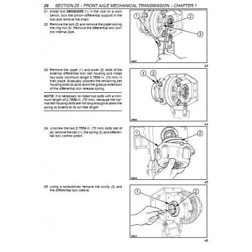 new holland tl tl70 tl80 tl90 tl100 workshop manual rh tractorboek com new holland tl 100 service manual new holland tl100a workshop manual