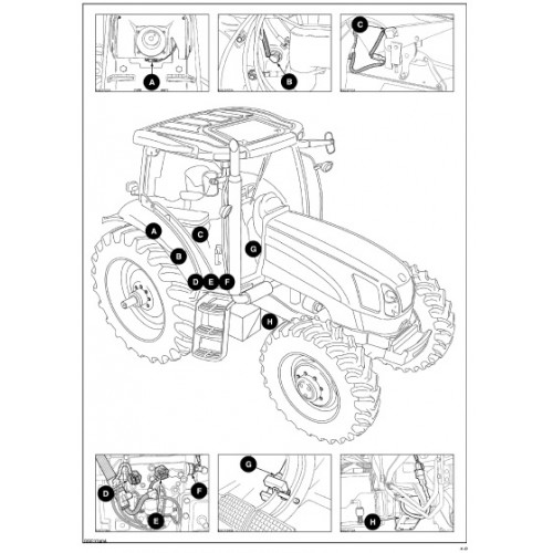 new holland t6010 t6020 t6030 t6050 t6060 t6070 delta rh tractorboek com new holland tractor operators manual new holland tractor manual download