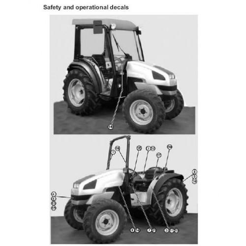 same solaris 35 solaris 45 solaris 55 operators manual rh tractorboek com Tractor Owners Manuals Case IH Tractor Manual